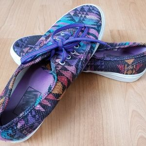 Womens Aztec Van's shoes